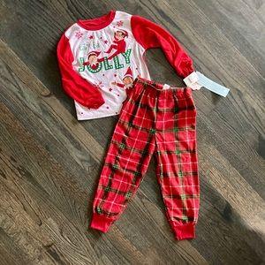 Other - Boys Elf on Shelf pajamas
